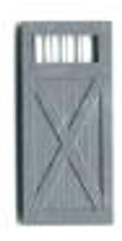 FREIGHT DOUBLE DOORS 4'9″ W/WINDOWS (no frame)