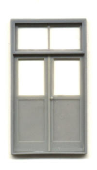 DOUBLE DOOR/FRAME 5'5″X9'7″