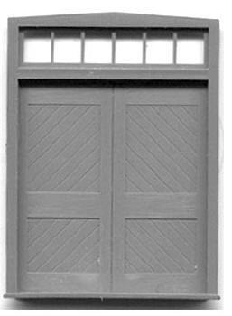 FREIGHT DOORS W/TRANSOM-6'X6'8