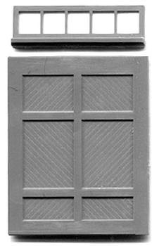RGS STYLE FREIGHT DOOR W/ TRANSOM (no frame)