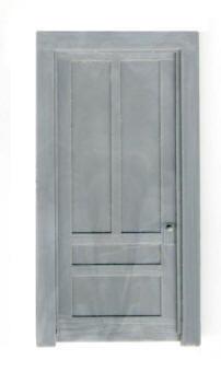 37″ 4 PANEL DOOR W/ FRAME