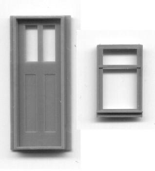 C&S CABOOSE WINDOW AND DOOR
