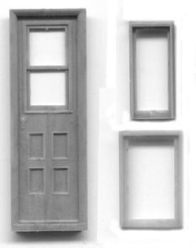 SR&RL COACH DOOR AND WINDOW SET