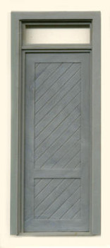 SHEATHED SINGLE DOOR W/TRANSOM