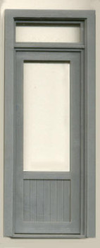 36″ SINGLE DOOR -W/WINDOW- TRANSOM