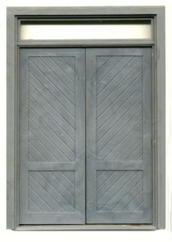 72″ DOUBLE DOOR WITH TRANSOM