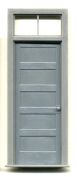1-5/8″ x 4-1/4″ DOOR-5 PANEL WITH 2 PANE TRANSOM
