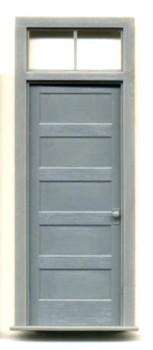 1-5/8″ x 4-1/4″ DOOR-5 PANEL WITH 2 PANE TRANSOM