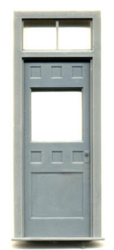 1-5/8″ x 4-1/4″ DOOR-W/SQ. WINDOW WITH 2 PANE TRANSOM