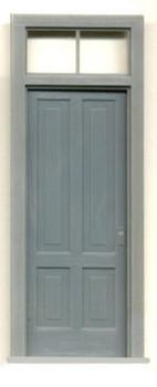 1-5/8″ x 4-3/16″ DOOR-4 PANEL W/2 PANE TRANSOM