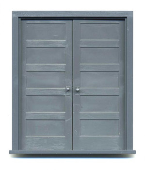 5-PANEL DOUBLE DOOR with frame