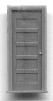 30″ 5 PANEL DOOR WITH FRAME