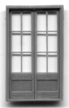 6'9″ ASSAY OFFICE DOUBLE DOOR-12 PANE