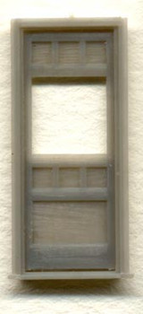 30″ DOOR W/WDW AND FRAME Door and Frame separate pieces