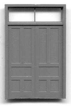DOUBLE DOOR W/TRANSOM