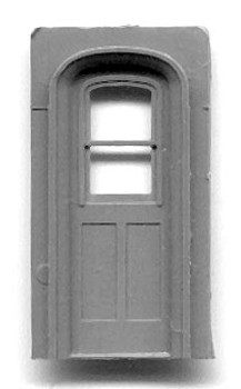NARROW GAUGE COACH ARCH-TOP END DOORS