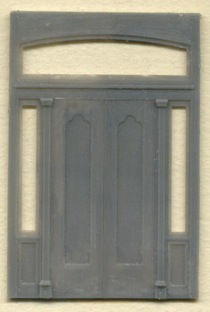 89 1/2″ x 130″ DOUBLE DOOR W/SIDELIGHT AND TRANSOM