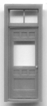 RGS STYLE DEPOT DOOR WITH WINDOW AND TRANSOM-36″x 84″