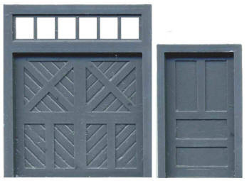 DOOR ASSORTMENT: PERSONNEL DOOR BAGGAGE DOOR