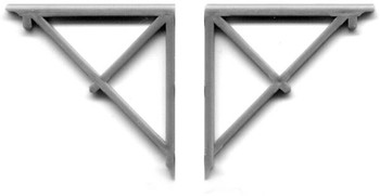 END ROOF BRACKETS right and left