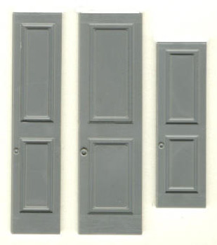 PANELED SHUTTERS  (fits window #3931)