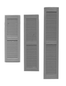 LOUVERED SHUTTERS 18″ x 68″