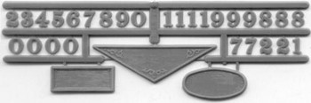 BUILDING PLATE PLAQUES AND NUMBERS