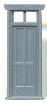 VICTORIAN DEPOT DOOR 32″ W/ TRANSOM