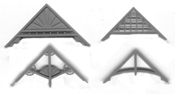 GABLE TRIM ASSORTMENT–4 DIFFERENT STYLES
