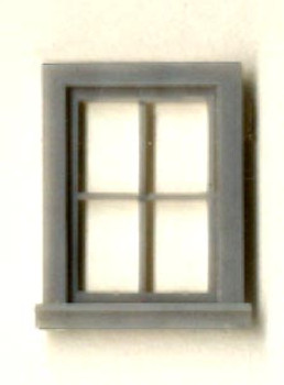18″ x 30″ ATTIC/CLOSET WINDOW SINGLE SASH 4-LIGHT