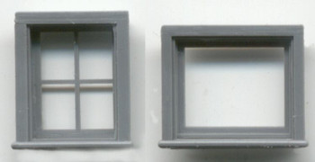 ATTIC/CABOOSE WINDOW SET 16″ x 20″ 4-LIGHT 24″ x 20″ 1- LIGHT