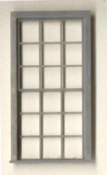 42″x 91″ ENGINE HOUSE WINDOW DOUBLE HUNG–9/9 LIGHT