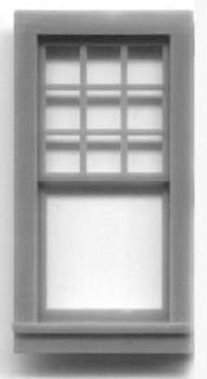 24″x 51″ WINDOW DOUBLE HUNG–9/1 LIGHT RGS Style Depot