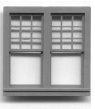 51.6″x 51″ DOUBLE WINDOW DOUBLE HUNG-9/1 LIGHT RGS Style Depot