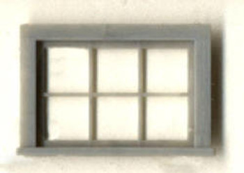 40″x 28″ HORIZONTAL WINDOW 6–LIGHT