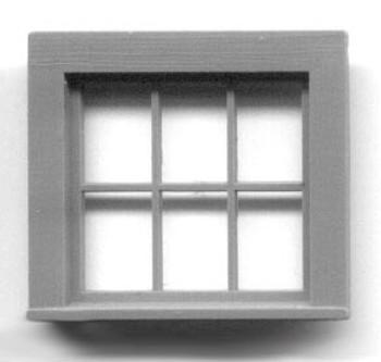 30 x 28 WINDOW SINGLE SASH–6 LIGHT