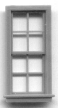 27″ x 64″ WINDOW DOUBLE HUNG -8 PANE