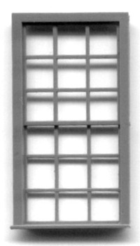 42″ x 91″ ENGINE HOUSE WINDOW -18 PANE