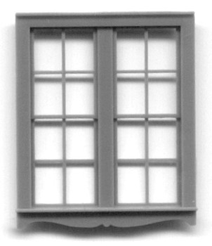66″ x 80″ QUEEN ANNE DOUBLE WINDOW DOUBLE HUNG -4 PANE