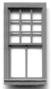 36″X76″ WINDOW DOUBLE HUNG- 2/9 PANE RGS Style Depot