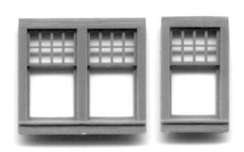 WINDOW SET: 32″ x 53″ SINGLE–9 LIGHT 58″X53″ DOUBLE–18 LIGHT RGS Style Depot
