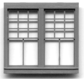 36″ x 82″ DOUBLE WINDOW 22 PANE RGS Style Depot