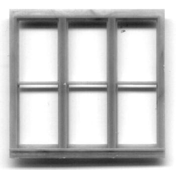 100″ x 92″ TRIPLE WINDOW DOUBLE HUNG-6 PANE