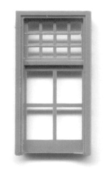34″ x 67″ SINGLE WINDOW DOUBLE HUNG–16 PANE Yosemite Valley RR/Bagby Station