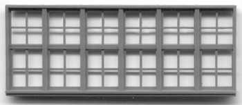 186″ x 70″ WINDOW -48 PANE WINDOW Yosemite Valley RR/Bagby Station