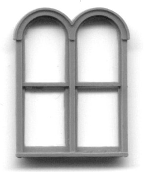 4'6″ x 6'3″ DOUBLE ROUND TOP WINDOW DOUBLE HUNG