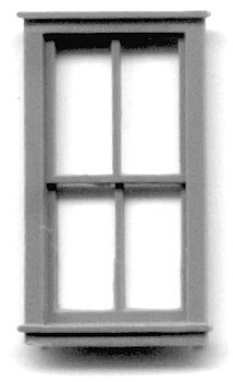 30″ x 62″ WINDOW DOUBLE HUNG -4 PANE