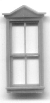 30″ x 68″ TRIANGLE PEDIMENT WINDOW DOUBLE HUNG