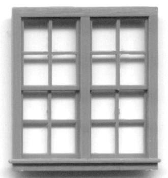 59″ x 64″ DOUBLE WINDOW -16 PANE