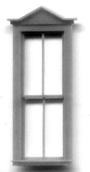 30″ x 86″ PEAKED PEDIMENT WINDOW coordinates with window #5220